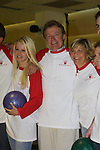 "Guiding Light's Crystal Hunt (Lizzie), Jerry verDorn (Ross) and Kim Zimmer (Reva) at the ""Bloss"" Bowling Event during the Guiding Light weekend on October 15, 2005 at the Port Authority, NY (Photo by Sue Coflin)"