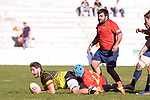 Spain's Thibaut Alvarez during Rugby Europe Championship 2017 match between Spain and Belgium in Madrid. March 18, 2017. (ALTERPHOTOS/Borja B.Hojas)
