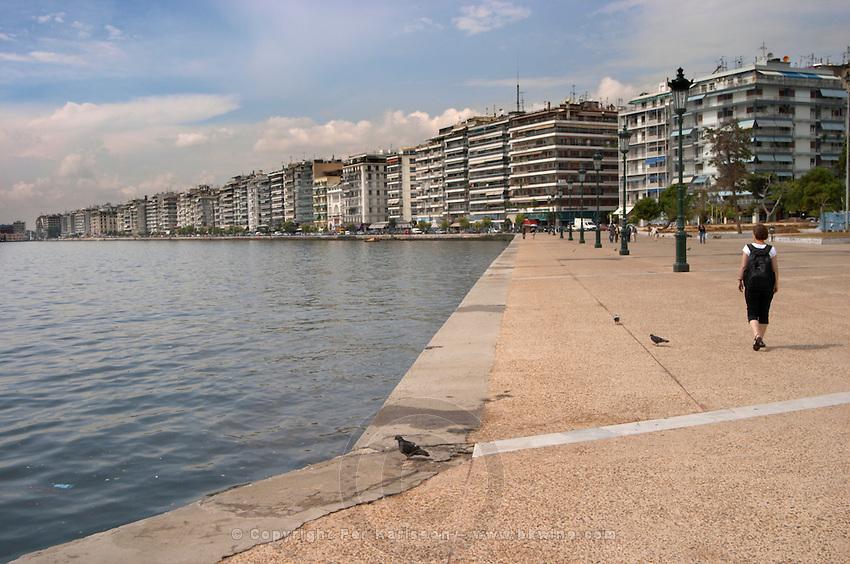 The waterfront. Thessaloniki, Macedonia, Greece