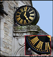 61 minute clock revealed after 70 years.