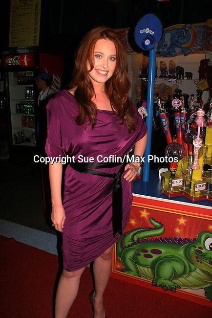 - One Life To Live's Melissa Archer was guest host and signed autographs at The Coney Island Illuscination presented by Ringling Bros. and Barnum & Bailey - The Greatest Show on Earth on August 28, 2010 at Coney Island Boardwalk, New York. (Photo by Sue Coflin/Max Photos)