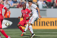 Carson, CA - Sunday, February 8, 2015: Miguel Ibarra (19) of the USMNT. The USMNT defeated Panama 2-0 during an international friendly at the StubHub Center
