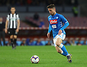 17th March 2019, Stadio San Paolo, Naples, Italy; Serie A football, Napoli versus Udinese; Dries Mertens of Napoli