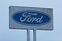 Pictured: The Ford plant in the outskirts of Bridgend, Wales, UK. Wednesday 19 February 2020<br /> Re: The effect of the Ford factory closure will have to Bridgend in south Wales, UK.