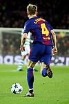 UEFA Champions League 2017/2018 - Matchday 6.<br /> FC Barcelona vs Sporting Clube de Portugal: 2-0.<br /> Ivan Rakitic.