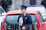 Garda Caroline Hennessey at Kenmare Court on Friday.