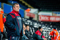 Garry Richards looks on during the Checkatrade 2rd round match between Swansea City U21's and Charlton Athletic at the Liberty Stadium, Swansea on Tuesday December 05 2017