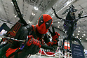 Cosplayer dressed as Deadpool poses for a photograph during the Tokyo Comic Con 2017 at Makuhari Messe International Exhibition Hall on December 1, 2017, Tokyo, Japan. This is the second year that San Diego Comic-Con International held the event in Japan. Tokyo Comic Con runs from December 1 to 3. (Photo by Rodrigo Reyes Marin/AFLO)