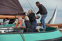 ZEILSPORT: SNEEK: 08-09-2018, Sneekermeer, Skûtsjesilen, SKS Amateurzeilen, ©foto Martin de Jong