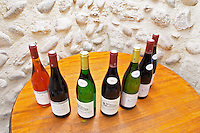bottles for tasting chateau curson dom pochon crozes hermitage rhone france