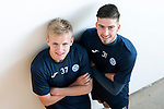 St Johnstone&rsquo;s Ally McCann (left) and Greg Hurst who have signed new contracts keeping them at McDiarmid Park for another season&hellip;04.05.18<br />