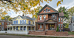 Autumn photo of South Park historic neighborhood, Dayton Ohio