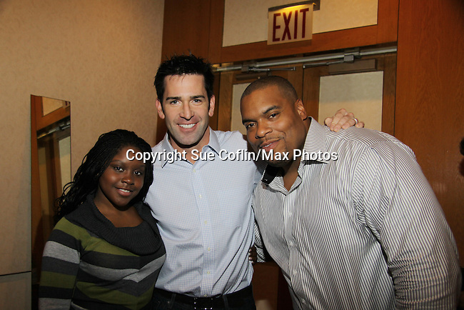 Shenell Edmonds - Matt Walton - Sean Ringgold  at The One Life To Live Lucheon at the Hemsley Hotel in New York City, New York on October 9, 2010. (Photo by Sue Coflin/Max Photos)