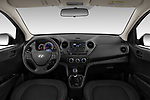 Stock photo of straight dashboard view of 2019 Hyundai i10 Twist 5 Door Hatchback Dashboard