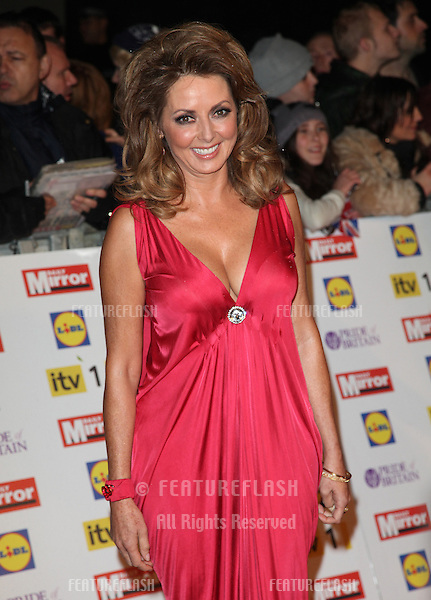 Carol Vorderman arriving for the 2012 Pride of Britain Awards, at the Grosvenor House Hotel, London. 29/10/2012 Picture by: Alexandra Glen / Featureflash