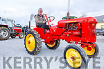 Denis Tagney from Castlemaine at the Threshing Festival in Blennerville on Sunday.