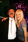 Randy Jones (original cowboy Village People) joins One Life To Live's Ilene Kristen on April 28, 2010 at Will Clark's P*rno Bingo at Pieces, New York City, New York to benefit the American Foundation for Suicide Prevention - an event presented by We Love Soaps (Damon Jacobs and Roger Newcomb). (Photos by Sue Coflin/Max Photos)