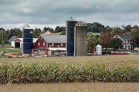 Farm in Lancaster County, Pennsylvania, USA