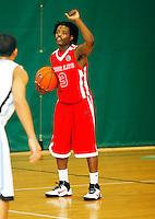April 9, 2011 - Hampton, VA. USA;  Dion Patton participates in the 2011 Elite Youth Basketball League at the Boo Williams Sports Complex. Photo/Andrew Shurtleff