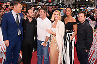 David Walliams, Ant McPartlin, Simon Cowell, Ant McPartlin Amanda Holden, Alesha Dixon and Declan Donnelley<br /> arrives to film for &quot;Britain's Got Talent&quot; 2017 at the Palladium, London.<br /> <br /> <br /> &copy;Ash Knotek  D3222  29/01/2017