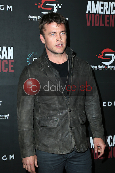 "Luke Hemsworth<br /> at the ""American Violence"" World Premiere, Egyptian Theater, Hollywood, CA 01-25-17<br /> David Edwards/DailyCeleb.com 818-249-4998"