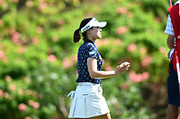 SINGAPORE - MARCH 02: In Gee Chun of South Korea on the 3rd green during the third round of the HSBC Women's World Championship 2019 at Sentosa Golf Club - Tanjong Course, Singapore on March 02, 2019.<br /> .<br /> .<br /> .<br /> (Photo by: Naratip Golf Srisupab/SEALs Sports Images)<br /> .<br /> Any image use must include a mandatory credit line adjacent to the content which should read: Naratip Golf Srisupab/SEALs Sports Images