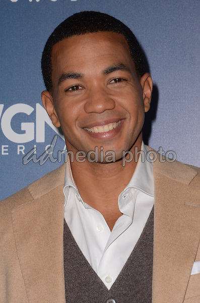 """08 January  - Pasadena, Ca - Alano Miller. Arrivals for the WGN America Winter TCA Tour """"Underground"""" held at The Langham Hotel. Photo Credit: Birdie Thompson/AdMedia"""