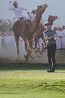 Joachim B. Hansen (DEN) on the 8th during Round 2 of the Oman Open 2020 at the Al Mouj Golf Club, Muscat, Oman . 28/02/2020<br /> Picture: Golffile | Thos Caffrey<br /> <br /> <br /> All photo usage must carry mandatory copyright credit (© Golffile | Thos Caffrey)