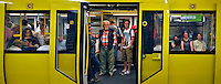 Transporte ferroviario e metroviario em Berlin. Alemanha. 2011. Foto de Juca Martins.