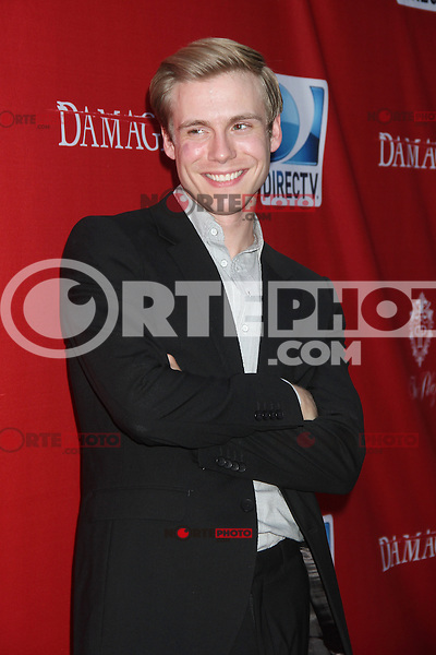 June 28, 2012 Zachary Booth at the 'Damages' Season 5 Premiere at The Paris Theatre on June 28, 2012 in New York City. © RW/MediaPunch Inc. /*NORTEPHOTO.COM*<br />