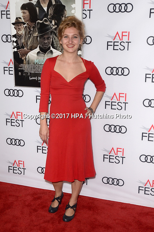 "LOS ANGELES - NOV 9:  Samantha Hoefer at the ""Mudbound"" Opening Gala of AFI Fest 2017 at the TCL Chinese Theater IMAX on November 9, 2017 in Los Angeles, CA"