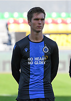 20191022 – OOSTENDE , BELGIUM : Brugge's Noah Aelterman pictured during a soccer game between Club Brugge KV and Paris Saint-Germain ( PSG )  on the third matchday of the UEFA Youth League – Champions League season 2019-2020 , thuesday  22 th October 2019 at the Versluys Arena in Oostende  , Belgium  .  PHOTO SPORTPIX.BE | DAVID CATRY