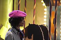 SÃO PAULO,SP, 24.10.2016 - SPFW-MOVIMENTAÇÃO - Movimentação durante a São Paulo Fashion Week N42 no Parque do Ibirapuera na região sul de São Paulo nesta segunda-feira, 24. (Foto: Fabricio Bomjardim/Brazil Photo Press)