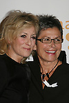 """One Life To Live's Judith Light """"Karen Wolek"""" poses with Kate Clinton at the 20th Annual GLAAD Media Awards on March 28, 2009 at the New York Marriott, New York City, NY. (Photo by Sue Coflin/Max Photos)"""