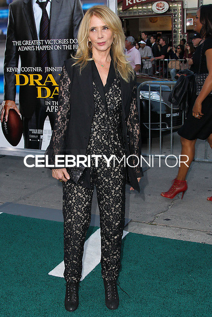 """WESTWOOD, LOS ANGELES, CA, USA - APRIL 07: Rosanna Arquette at the Los Angeles Premiere Of Summit Entertainment's """"Draft Day"""" held at the Regency Bruin Theatre on April 7, 2014 in Westwood, Los Angeles, California, United States. (Photo by Xavier Collin/Celebrity Monitor)"""