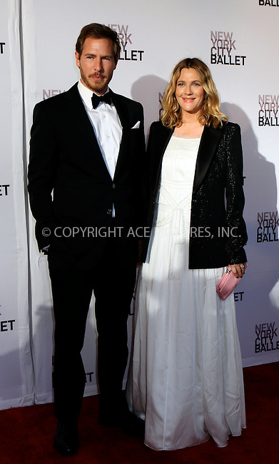 WWW.ACEPIXS.COM . . . . .  ....May 10 2012, New York City....Will Kopelman and Drew Barrymore arriving at the 2012 New York City Ballet Spring Gala at the David Koch Theatre at Lincoln Center on May 10, 2012 in New York City.....Please byline: NANCY RIVERA- ACEPIXS.COM.... *** ***..Ace Pictures, Inc:  ..Tel: 646 769 0430..e-mail: info@acepixs.com..web: http://www.acepixs.com