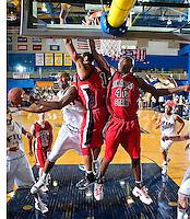 Florida International University Golden Panthers (9-12, 4-7 Sun Belt Conference) versus Arkansas State University (11-11, 6-4 Sun Belt Conference) at Pharmed Arena, Miami, Florida on Saturday, January 27, 2007.  The Golden Panthers defeated ASU, 80-61...Junior guard Chris Fuller (0)