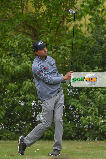 Kevin Kisner (USA) watches his tee shot on 10 during day 4 of the WGC Dell Match Play, at the Austin Country Club, Austin, Texas, USA. 3/30/2019.<br /> Picture: Golffile | Ken Murray<br /> <br /> <br /> All photo usage must carry mandatory copyright credit (© Golffile | Ken Murray)