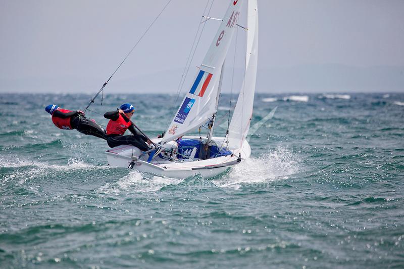 ISAF Sailing World Cup Hyères - Fédération Française de Voile. 470W.
