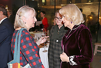 06 February 2019 - Camilla Duchess of Cornwall and Gemma Jones attend a reception to launch the Glorious Grandparents initiative at Unicorn Theatre in London. Photo Credit: ALPR/AdMedia