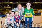 Enjoying a Night at the Dogs at the Kingdom Grayhound Stadium on Friday were Deirdre Coggins, Nicole Coggins, Dara Coggins, Tiernan Coggins, and Trevor Coggins