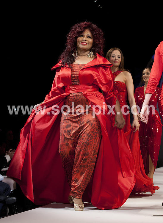 **ALL ROUND PICTURES FROM SOLARPIX.COM**                                             **SYNDICATION RIGHTS FOR UK, AUSTRALIA, DENMARK, PORTUGAL, S. AFRICA, SPAIN & DUBAI (U.A.E) & ASIA (EXCLUDING JAPAN) ONLY**                                                                                  Caption: Fashion runway at the Mercedes-Benz fashion week at the Hammerstein Ballroom in New York City USA                                                                             .This pic: Chaka Khan                                                                                             JOB REF:14458        PHZ/Mayer       DATE:08.02.2012                                                            **MUST CREDIT SOLARPIX.COM OR DOUBLE FEE WILL BE CHARGED**                                                                      **MUST AGREE FEE BEFORE ONLINE USAGE**                               **CALL US ON: +34 952 811 768 or LOW RATE FROM UK 0844 617 7637**