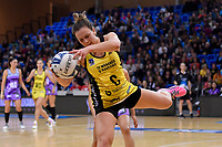 Pulse&rsquo; Claire Kersten in action during the ANZ Premiership - Pulse v Northern Stars at Te Rauparaha Arena, Porirua, New Zealand on Monday 25 June 2018.<br /> Photo by Masanori Udagawa. <br /> www.photowellington.photoshelter.com