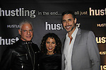 "Daphne Rubin-Vega and friends star in the third and final season of ""Hustling"" and attend the screening on December 16, at the Tribeca Cinemas, New York City, New York. The evening had a red carpet, cocktails and the screening. (Photo by Sue Coflin/Max Photos)"
