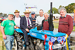 Dermot Harrington Tousist, Thomas Fitzgerald Killarney, Jerry Cremins, Castleisland, Pat carroll, Jimmy divane, Tony Connor all kilcummin, and Conor Loughlin Castleisland at the South Kerry Ploughing Championships in Fossa on Sunday