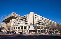 FBI Building Washington DC Architecture