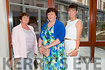 """Marian O'Halloran, Noreen Sayers and Aine Wall at the """"Fashion Fusion"""" in aid of Duggan Family House fire Appeal in the Fels Point Hotel on Saturday"""