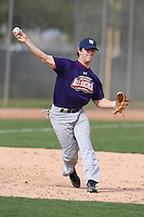 January 16, 2010:  Tanner Ashcraft (Tuscaloosa, AL) of the Baseball Factory South Team during the 2010 Under Armour Pre-Season All-America Tournament at Kino Sports Complex in Tucson, AZ.  Photo By Mike Janes/Four Seam Images
