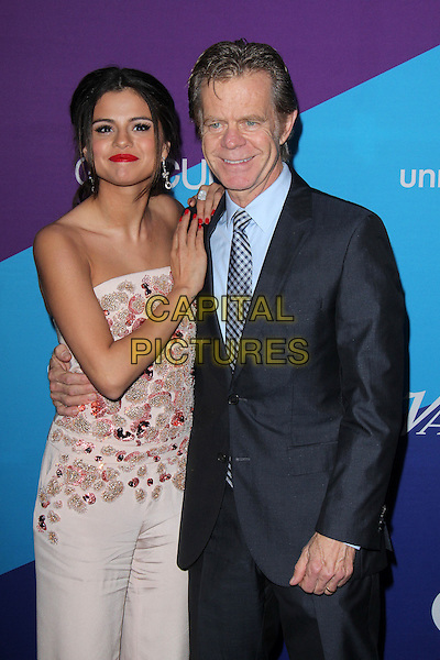 CULVER CITY, CA - February 27: Selena Gomez &amp; William H. Macy at the unite4:good and Variety present unite4:humanity, Sony Studios, Culver City,  February 27, 2014. <br /> CAP/MPI/JO<br /> &copy;Janice Ogata/MediaPunch/Capital Pictures