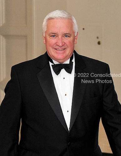 Governor Tom Corbett (Republican of Pennsylvania) arrives for a State Dinner in honor of Chancellor Angela Merkel of Germany at the White House in Washington, D.C.  on Tuesday, June 7, 2011.Credit: Ron Sachs / CNP